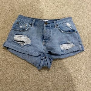 Amuse Society Crossroads Jean Shorts